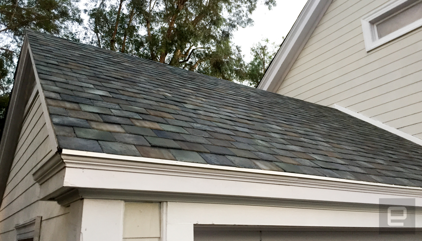 Tesla Announces New Solar Roof Tiles Same Cost As