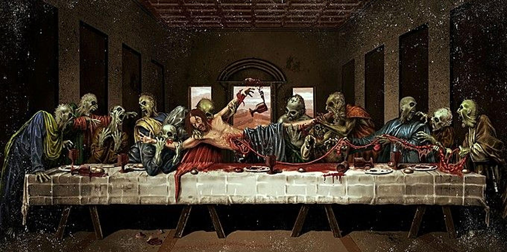The First Zombie Supper